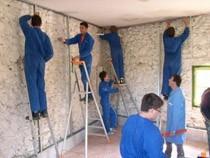ремонт стен помещений Мурманск