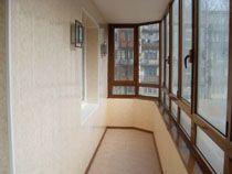Отделка балкона в Мурманске. Отделка лоджии