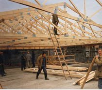 Строительство крыш в Мурманске и пригороде, строительство крыш под ключ г.Мурманск